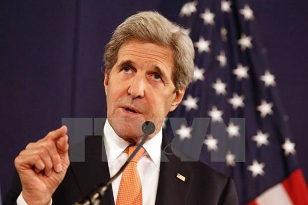 John Kerry met en garde la Chine contre la creation d'une ADIZ en Mer Orientale hinh anh 1