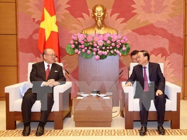 Renforcer les relations entre les deputes d'amitie vietnamiens et japonais hinh anh 1