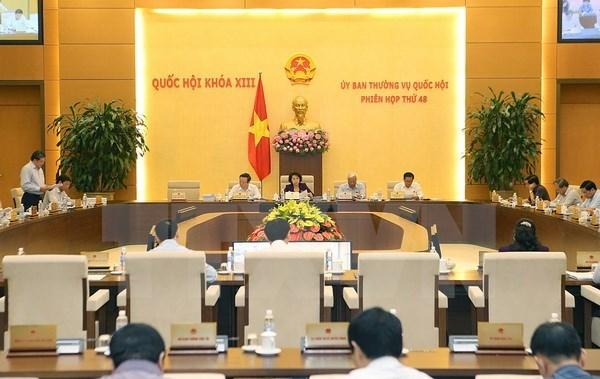 Debut le 13 juin de la 49e session du Comite permanent de l'AN hinh anh 1