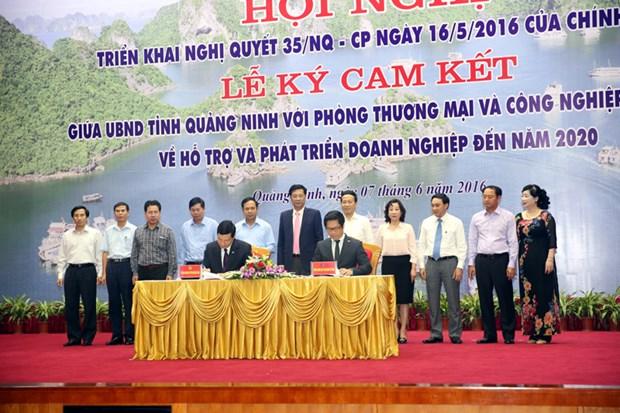 Quang Ninh-VCCI : engagement fort dans le soutien des entreprises hinh anh 1