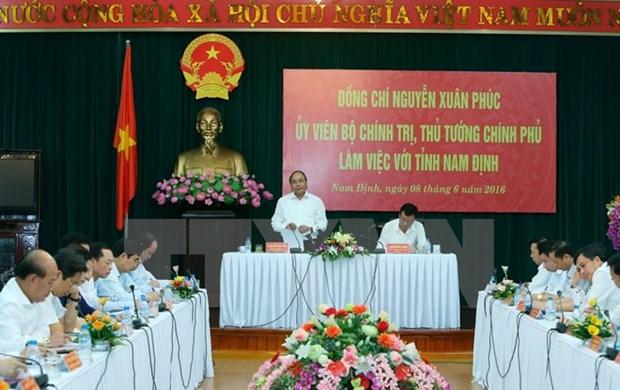 Nam Dinh : harmoniser le developpement socio-economique et la protection de l'environnement hinh anh 1