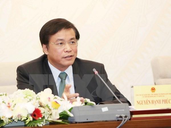 Le secretaire general de l'AN annonce le succes des elections legislatives hinh anh 1