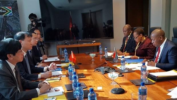 Troisieme session du Comite mixte du Commerce Vietnam - Afrique du Sud hinh anh 1