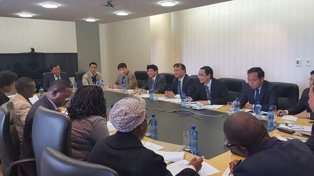 Troisieme session du Comite mixte du Commerce Vietnam - Afrique du Sud hinh anh 2