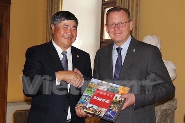 Le Vietnam cherche a stimuler sa cooperation avec l'Allemagne hinh anh 1