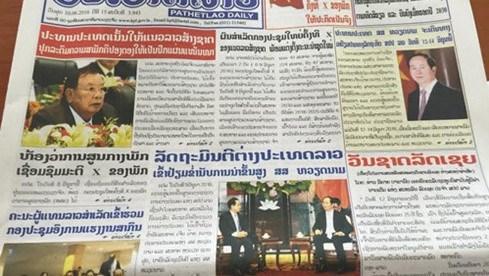 La presse laotienne salue la prochaine visite du president vietnamien hinh anh 1