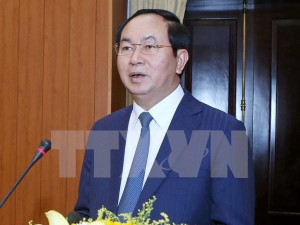 Le president Tran Dai Quang va se rendre au Laos et au Cambodge hinh anh 1