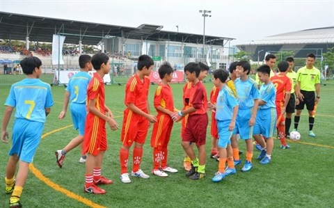 A l'aube du foot scolaire vietnamien hinh anh 2