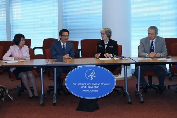 L'USCDC accompagne le Vietnam dans le developpement du systeme sanitaire hinh anh 1