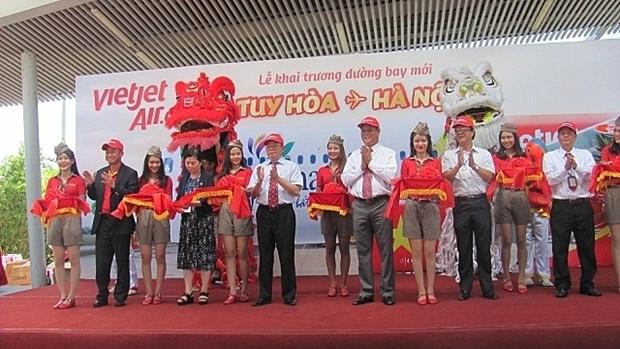 Vietjet : ouverture de la ligne aerienne Hanoi - Tuy Hoa hinh anh 1