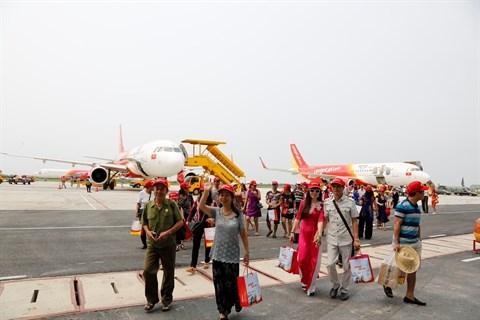 Un million de billets gratuits pour des vols domestiques de Vietjet hinh anh 1
