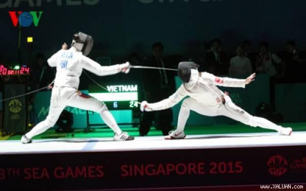 Escrime: une qualification de plus pour les Jeux olympiques de 2016 hinh anh 1