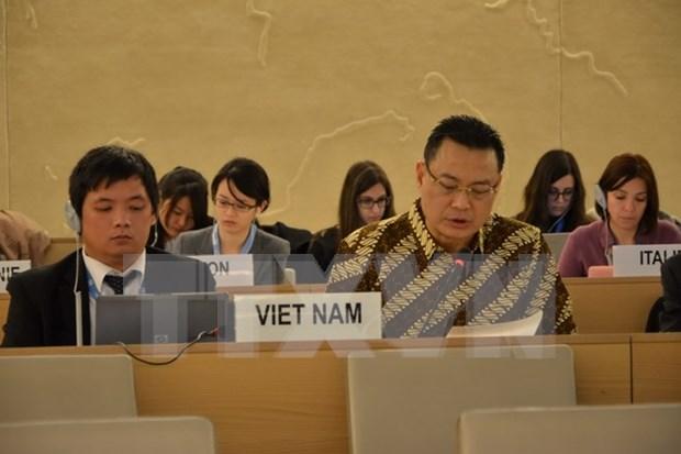 Le Vietnam et l'ASEAN reaffirment leurs engagements sur les droits de l'homme hinh anh 1