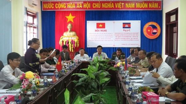 Edification d'une frontiere de paix et d'amitie Vietnam-Cambodge hinh anh 1