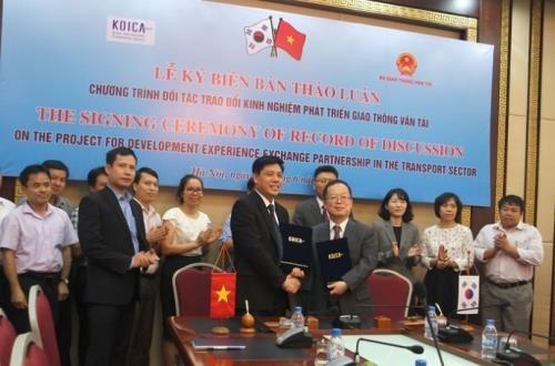 Developpement du transport : le Vietnam beneficie de l'assistance de la R. de Coree hinh anh 1