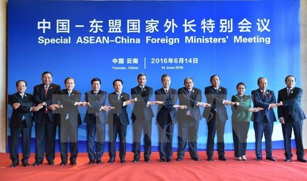 L'ASEAN et la Chine s'engagent a maintenir la paix en Mer Orientale hinh anh 1