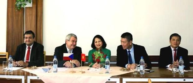 Renforcement de la cooperation entre les partis communistes vietnamien et tcheque hinh anh 1