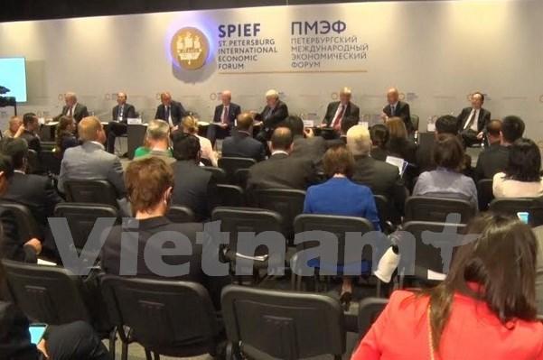 La VNA a une conference des agences de presse en Russie hinh anh 1