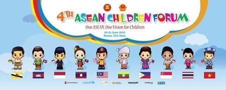Le Vietnam accueillera le 4eme Forum des enfants de l'ASEAN hinh anh 1