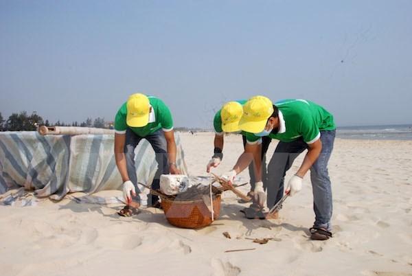 Lancement de la campagne nationale d'assainissement de la mer hinh anh 1