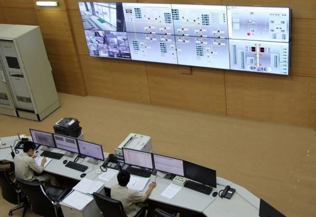 Raccordement du turboalternateur N°2 de la centrale hydroelectrique de Lai Chau hinh anh 1