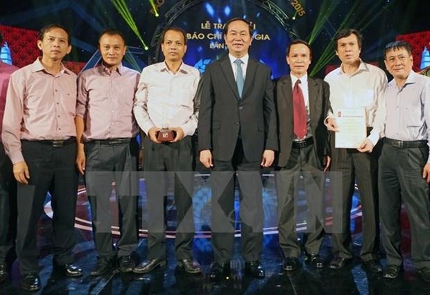 Le president Tran Dai Quang exhorte la presse vietnamienne a se renover hinh anh 2