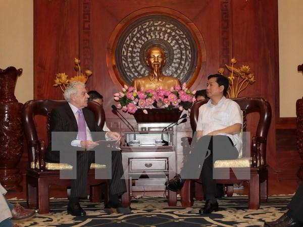 Ho Chi Minh-Ville favorise toujours les activites des investisseurs britanniques hinh anh 1