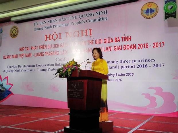 Ha Long, Luang Prabang et Udon Thani forment un triangle de patrimoines pour developper le tourisme hinh anh 1