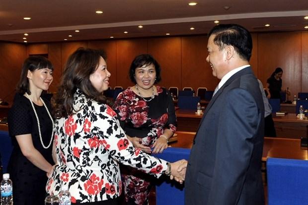 Secteur de la comptabilite et de l'audit: l'ACCA continuera de cooperer avec le Vietnam hinh anh 1