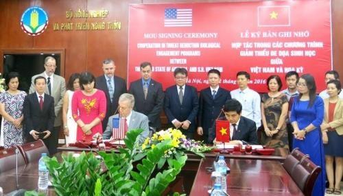 Cooperation Vietnam - Etats-Unis pour reduire les menaces biologiques hinh anh 1
