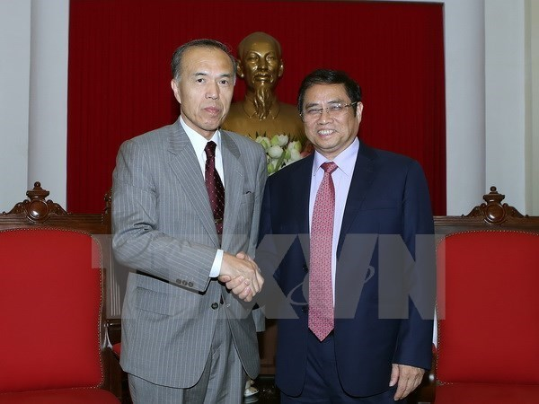 Une delegation de l'Autorite nationale du personnel du Japon au Vietnam hinh anh 1