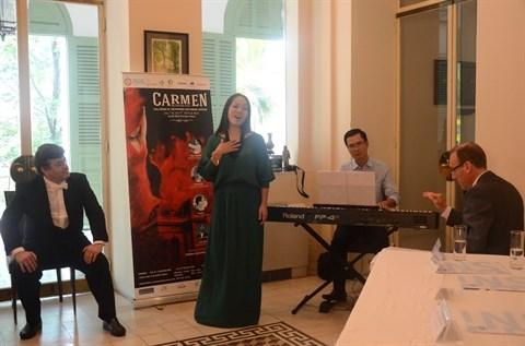 L'opera Carmen de Bizet joue a Ho Chi Minh-Ville hinh anh 1