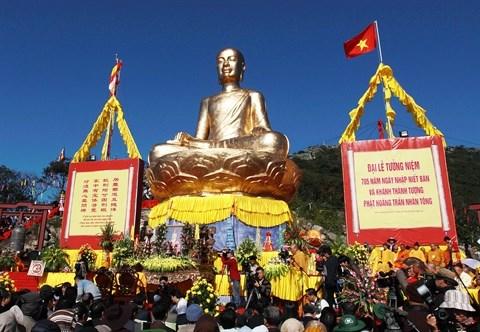 Le zen Truc Lam Yen Tu, un courant bouddhique hinh anh 1
