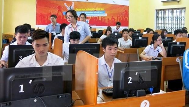 Six vietnamiens au concours international d'informatique bureautique hinh anh 1