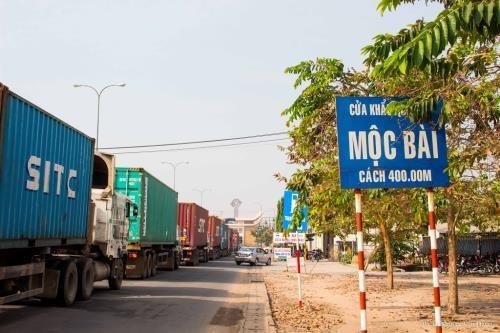 Tay Ninh et Svay Rieng (Cambodge): quatre nouvelles portes frontalieres auxiliaires hinh anh 1