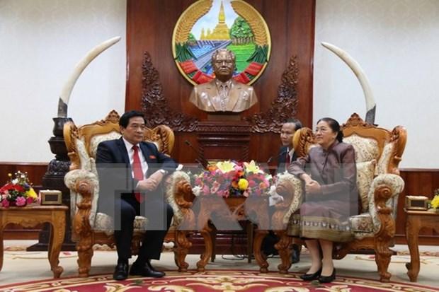 Vietnam-Laos : pour une cooperation resserree dans les affaires ethniques hinh anh 1