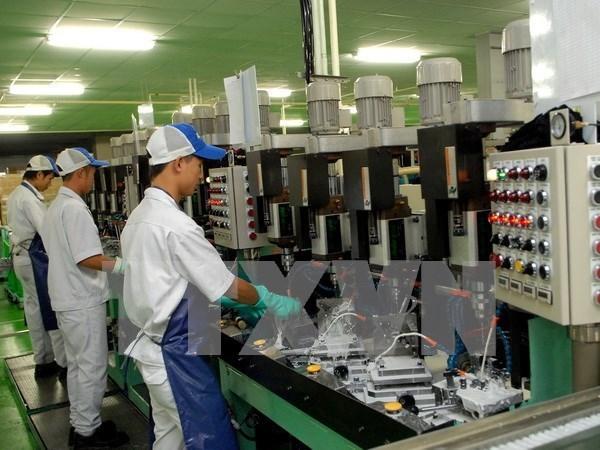 Hanoi : l'indice de developpement industriel en hausse de 7,7% hinh anh 1