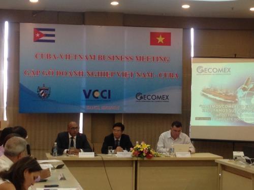 Vietnam et Cuba promeuvent la cooperation dans le commerce hinh anh 1