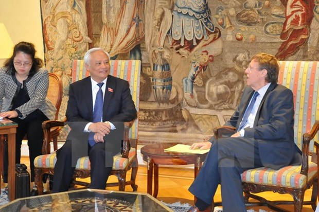 Le Vietnam veut renforcer ses liens avec la Belgique et l'UE hinh anh 1