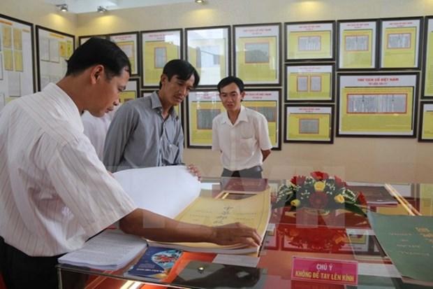 Exposition sur Hoang Sa et Truong Sa a Phu Yen hinh anh 1