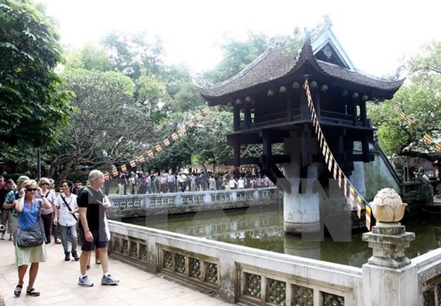 Croissance remarquable du nombre de touristes venant a Hanoi hinh anh 1