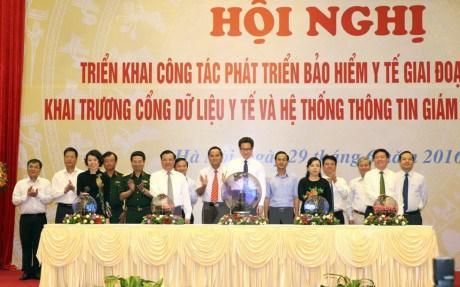 Inauguration d'un portail de donnees de sante hinh anh 1