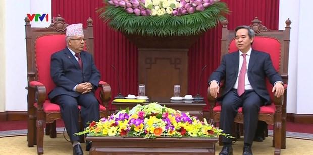 Le PCV fait grand cas des relations avec le Parti communiste du Nepal (marxiste-leniniste unifie) hinh anh 1