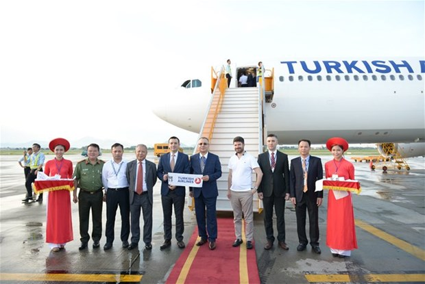 Inauguration d'une ligne aerienne Istanbul - Hanoi hinh anh 1