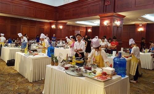 Concours de preparation de plats sud-coreens au Vietnam hinh anh 2