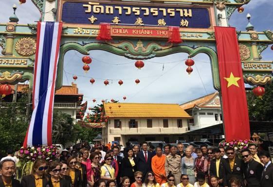 Efforts pour preserver des patrimoines culturels vietnamiens en Thailande hinh anh 1