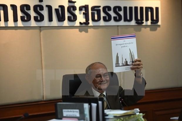 La Thailande organisera un referendum sur le projet de constitution en aout prochain hinh anh 1