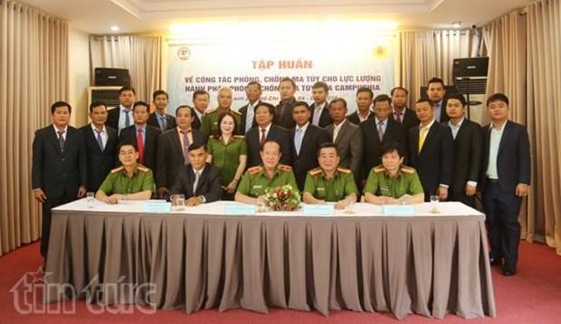 Le Vietnam aide le Cambodge dans la lutte contre le trafic de drogue hinh anh 1
