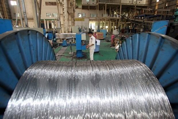 L'indice de production industrielle en hausse de 7,5% au premier semestre hinh anh 1