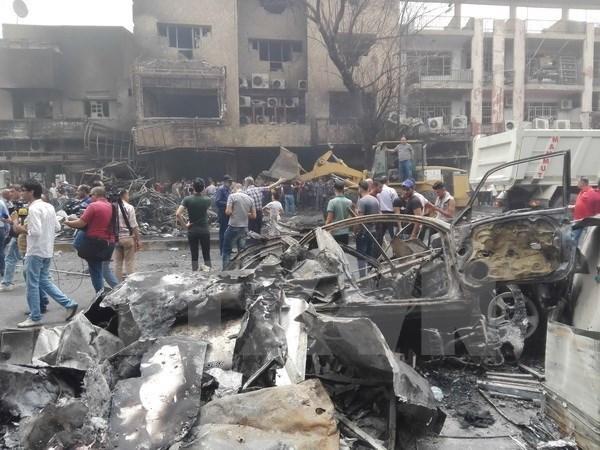 Attentat de Bagdad : message de condoleances a l'Irak hinh anh 1